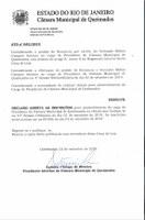 Nova Eleição para Presidência da Câmara Municipal de Queimados